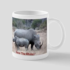 Save The Rhino Mugs