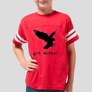 Got Worms Youth Football Shirt