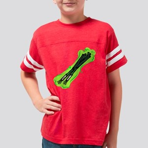 scallions1 Youth Football Shirt
