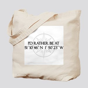 I'd rather be at Stonehenge. Tote Bag