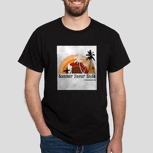 Summer Never Ends Dark T-Shirt