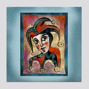 Jester Tile Coaster