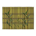 Tropic Bamboo Decor 5'x7'Area Rug