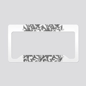 Elegant Filigree License Plate Holder