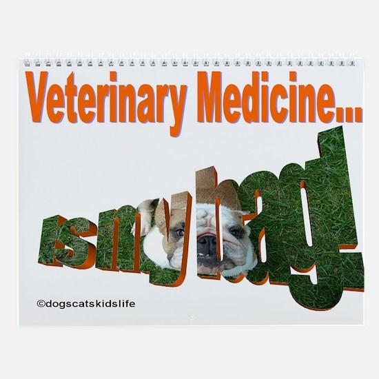 Veterinary Support Staff Wall Calendar