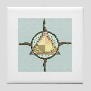 UniSERVrecFINE Tile Coaster