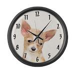 Chihuahua Large Wall Clock