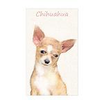 Chihuahua Sticker (Rectangle 10 pk)