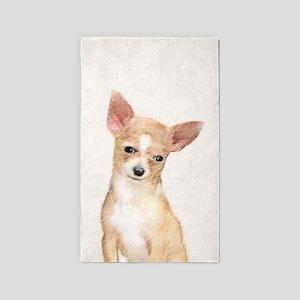Chihuahua Area Rug