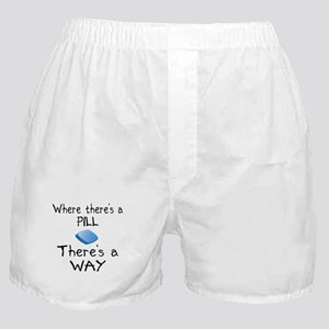 Where There Is A Pill Boxer Shorts