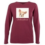 Chihuahua Plus Size Long Sleeve Tee