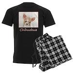 Chihuahua Men's Dark Pajamas