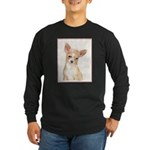Chihuahua Long Sleeve Dark T-Shirt