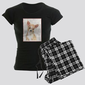 Chihuahua Women's Dark Pajamas