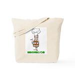 Authentic Naked Whiz Logo Tote Bag