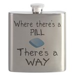 Where There Is A Pill Flask