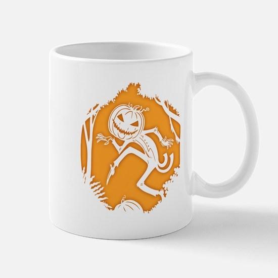 Sneaky Pumpkin Man 817 Mug