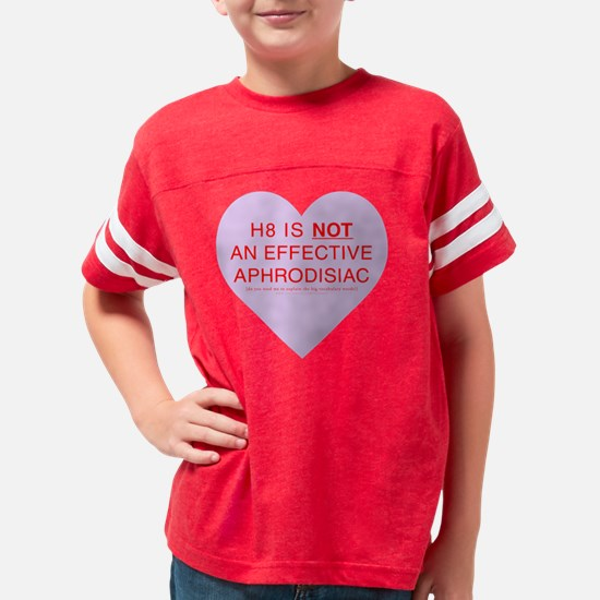 hate-lavender Youth Football Shirt