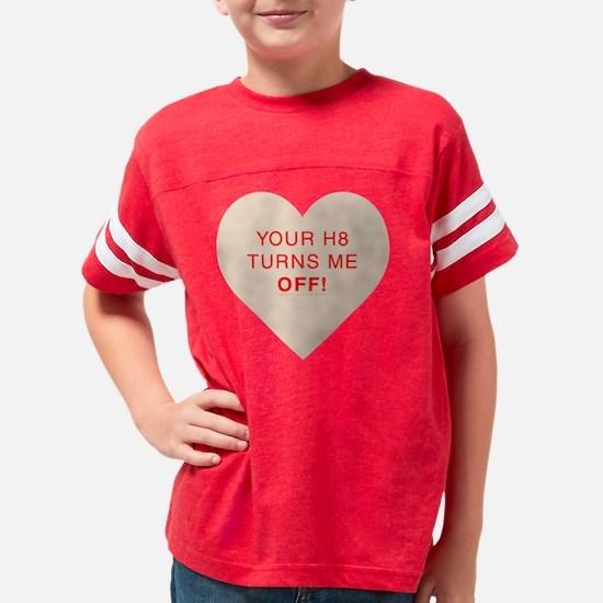 off-orange Youth Football Shirt
