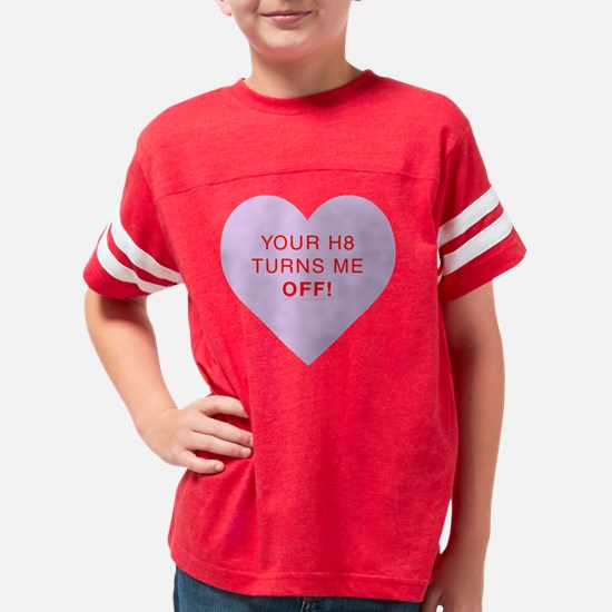 off-lavender Youth Football Shirt