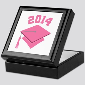 2014 Pink Graduation Keepsake Box