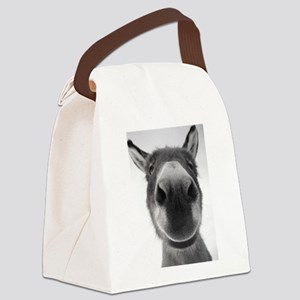 Sophia Smiling Canvas Lunch Bag