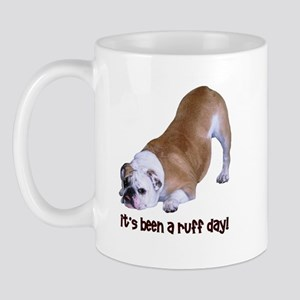 Bulldog Ruff Day Mug