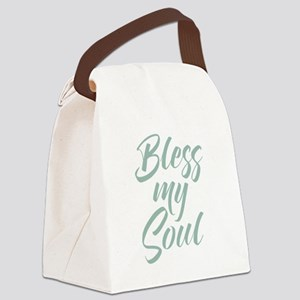 Bless My Soul Canvas Lunch Bag