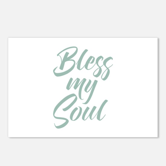 Bless My Soul Postcards (Package of 8)
