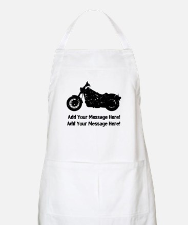 Personalize It, Motorcycle Apron