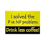 I solved P vs NP! Rectangle Magnet