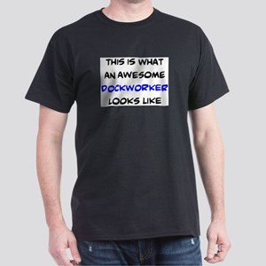 awesome dockworker Dark T-Shirt
