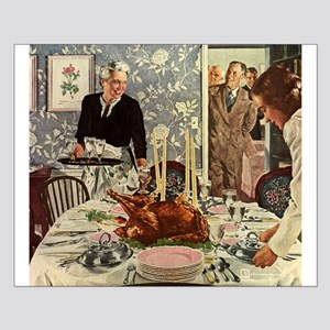 Vintage Thanksgiving Dinner Posters