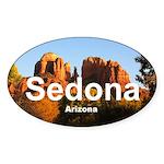 Sedona Sticker (Oval)