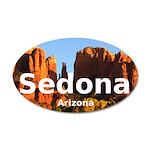 Sedona 20x12 Oval Wall Decal