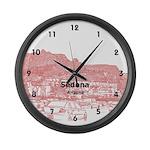 Sedona Large Wall Clock