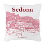 Sedona Woven Throw Pillow