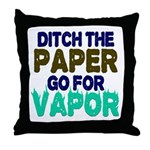 Ditch the Paper Throw Pillow