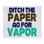 Ditch the Paper Throw Blanket