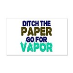 Ditch the Paper Wall Decal