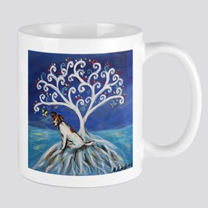 Jack Russell Terrier Tree Mugs