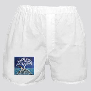 Jack Russell Terrier Tree Boxer Shorts