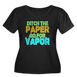 Ditch the Paper Plus Size T-Shirt