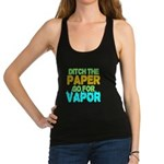 Ditch the Paper Racerback Tank Top