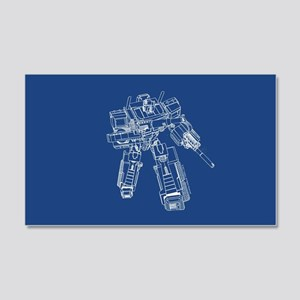 Optimus Prime Wall Decal