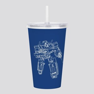 Optimus Prime Acrylic Double-wall Tumbler