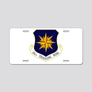 34th TRW Aluminum License Plate