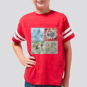 four elements Youth Football Shirt