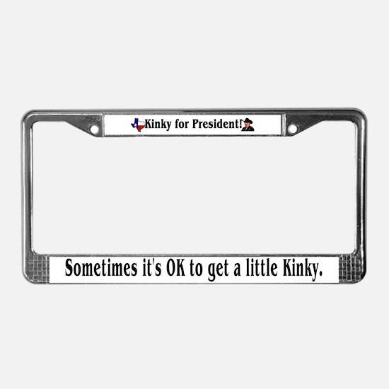 Kinky 2008! License Plate Frame