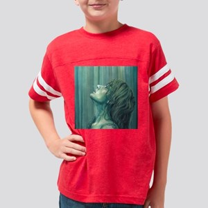 Pray Standing Youth Football Shirt